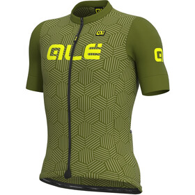 Alé Cycling Solid Cross SS Jersey Men, green